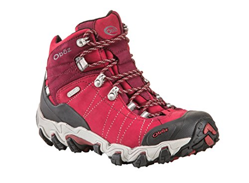Oboz Women's Bridger Bdry Hiking Boot,Rio Red,10 M US