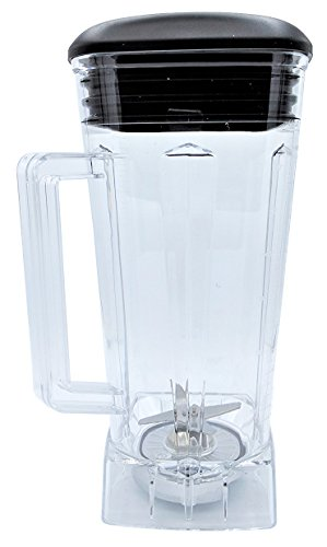 Blendin Complete 64oz Replacement Jar Container Set, Compatible with Vitamix ()