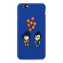 Dragon Ball Z Chibi Vegeta And Goku Hard Plastic Snap-On Case Cover For iPhone 6 / iPhone 6s