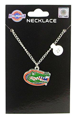 Florida Gators Logo Pendant Chain Necklace - NCAA College Athletics Fan Shop Sports Team Merchandise