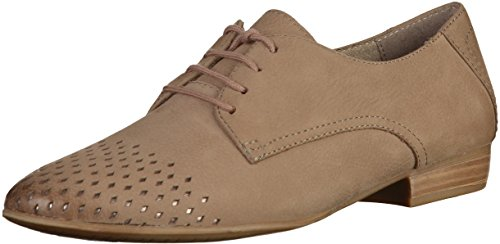 Braun Talla Oxford Nubuck pepper Tamaris Oxfords Mujeres xXAwn8qIfR