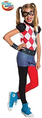 DISBACANAL Disfraz de Harley Quinn para niña - -, 8-10 años ...