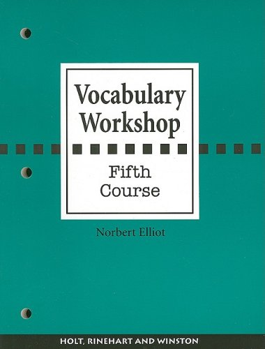 Vocabulary Workshop, Fifth Course