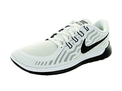 1b40a3aab33c81 Galleon - NIKE Mens Free 5.0 Running Shoes (White