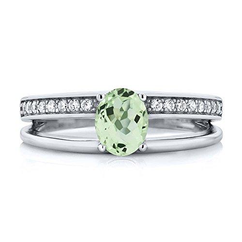 Green Amethyst Wedding Set - 9