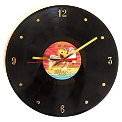 Record Clock - Led Zeppelin (The Song Remains The Same). Handmade 12 wall clock created with the Led Zeppelin record.