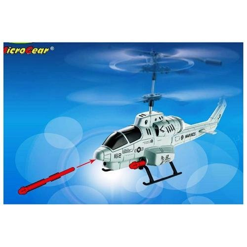 UDIR/C Air Attack Fighter Missile Shooting 3.5 Channel RC Helicopter
