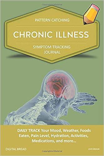 chronic illness pattern catching symptom tracking journal daily