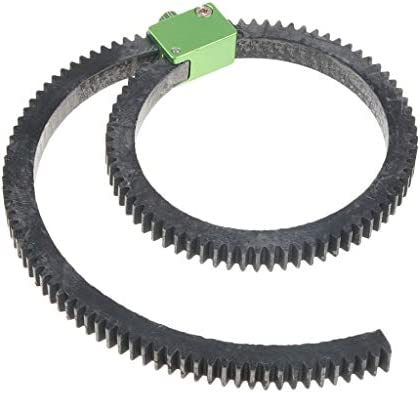 Taidda Follow Focusing Gear Ring Connect Durable Free Servo Follow Focusing Gear Ring for Feiyu AK2000 AK4000 SLR Camera Photography