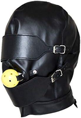 Exceart Bondage Haube SM Fetisch PU Leder Harness Kopfbedeckung Lustiges Sexspiel Spielzeug Sklave Rollenspiel...