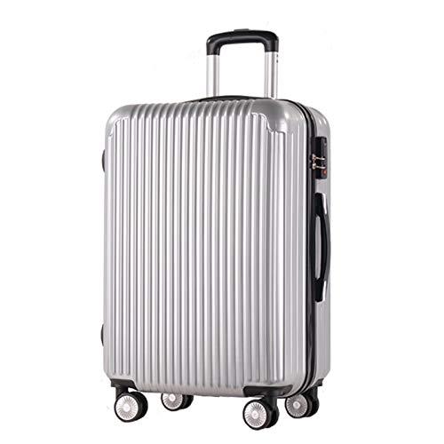 MTkxsy ABS + PCマテリアルスーツケース、スーツケーストローリーケースユニバーサルホイールロックボックス B07Q1X359C  20 inches