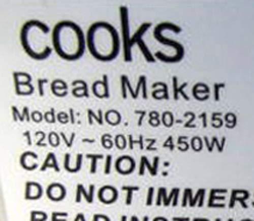Nueva paleta de amasado para cocineros Lot no 2159 modelo no 780 ...