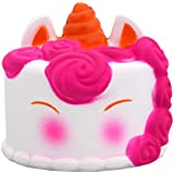 The Legendary Kids Life Squishies: Slow Rising Jumbo Kawaii Creamy Scent White Unicorn Mousse Cake Squishy Toy for Parties Stress ADHD ADD Anxiety Autism Complimentary Magical Unicorn Children EBook
