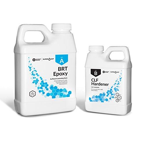 Entropy Resins Super Sap BRT Epoxy Resin & Hardener 1.5 Gal. Kit (FAST) Professional Grade Biobased Epoxy