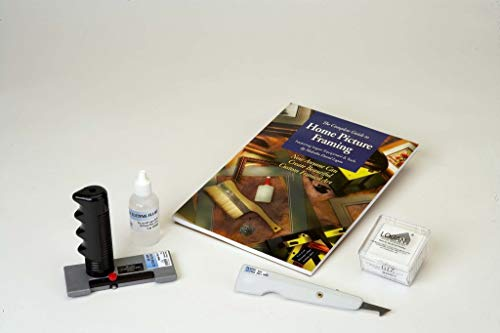 Logan 712 Mat Cutter Upgrade Kit with Blades, Glass Cutter, Home Framing Guide Book and More