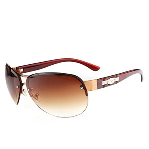 MosierBizne New Womens Fashion Metal Sunglasses - Eyeglasses Of Out What Takes Scratches