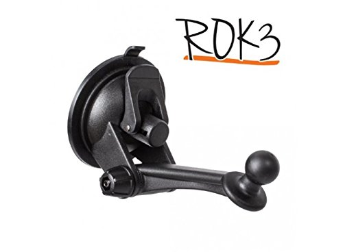 iBOLT Rok 3 Suction Mount with 80mm Dash Disc Works with All iBOLT car Dock Holders and Garmin GPS Devices