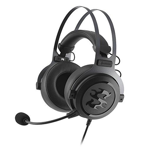 Sharkoon SGH3 - Auriculares Gaming con Cable, Estéreo, Micrófono, Negro