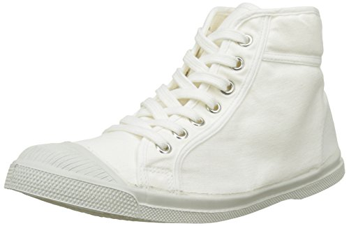 Bensimon Tennis Mid Femme, Zapatillas Altas para Mujer Blanc (Blanc)