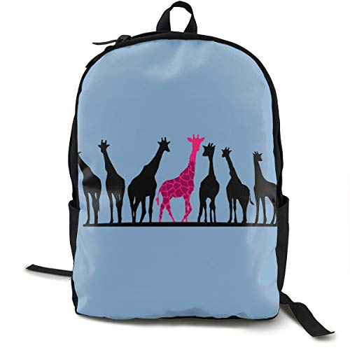 Giraffe Printed School Backpack Lightweight Travel Rucksack Bag Laptop Backpack ()