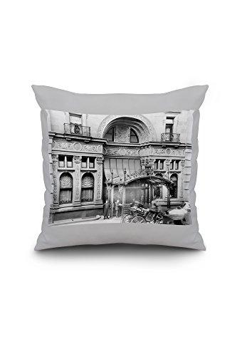 entrance-to-the-waldorf-astoria-hotel-nyc-photo-18x18-spun-polyester-pillow-custom-border