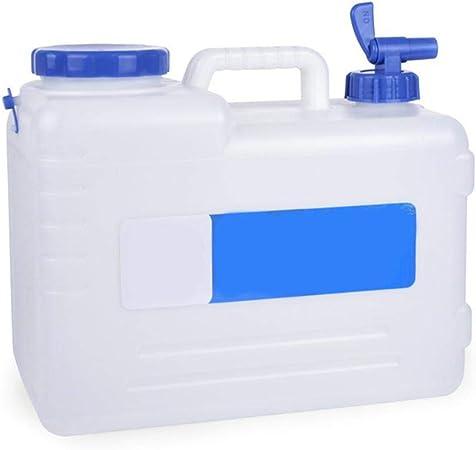 2 x bidons d/'eau 5 l avec robinet Bidon d/'eau potable bidons Réservoir D/'eau Camping