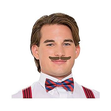 fancy face paint color halloween roaring 20s mustache