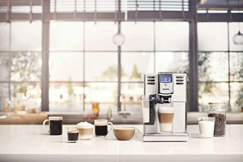Philips Kaffeevollautomat EP5331/10 Machine à café Automatique avec système LatteGo Blanc, 1.8 liters