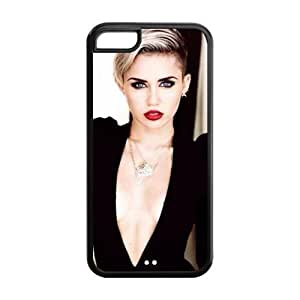 Miley Cyrus Durable TPU Protective Case For Iphone 6 (4.5) (Black, White)