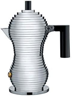 Alessi Cafetera de espresso Pulcina, negro, 70ml: Amazon.es: Hogar
