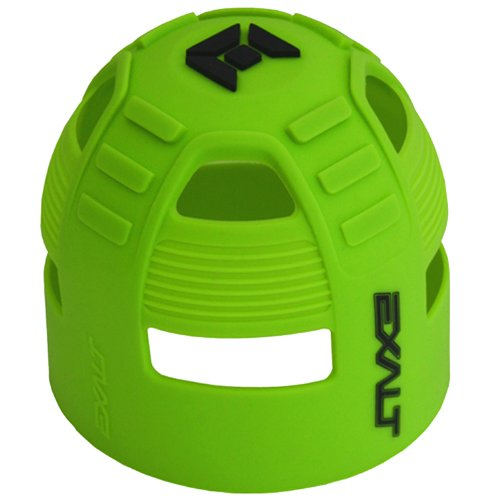 Exalt 2011 Paintball Carbon Fiber Tank Grip Cover All Sizes - Lime by Exalt