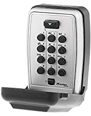Master Lock 5423D Push Button Wall Mount Key Safe