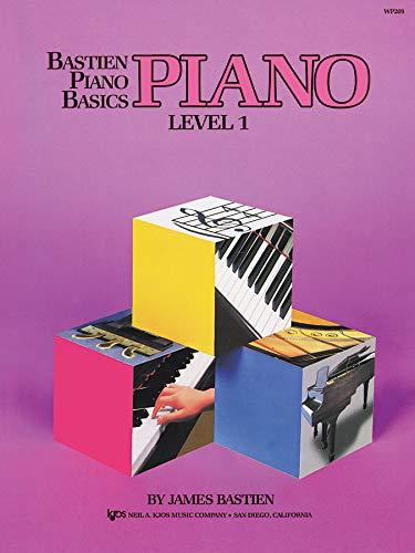 WP201 - Bastien Piano Basics - Piano Level 1 (Bastien Piano Level One Theory)