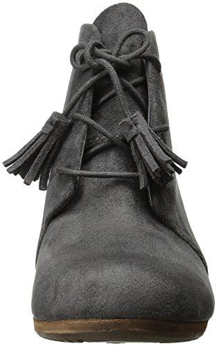 Scholl's Boot Grey Microsuede Dakota Dr Women's dqZw1Td6A