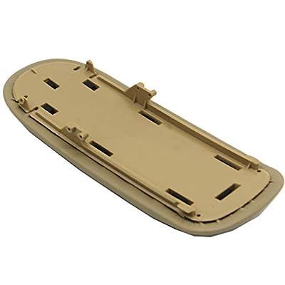 Ezzy Auto Beige Center Console Lid Suture Cover Console Armrest Lid Box fit for Mini Cooper 2002-2008: Automotive