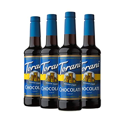 (Torani Sugar Free Syrup, Chocolate, 25.4 Ounce (Pack of 4))