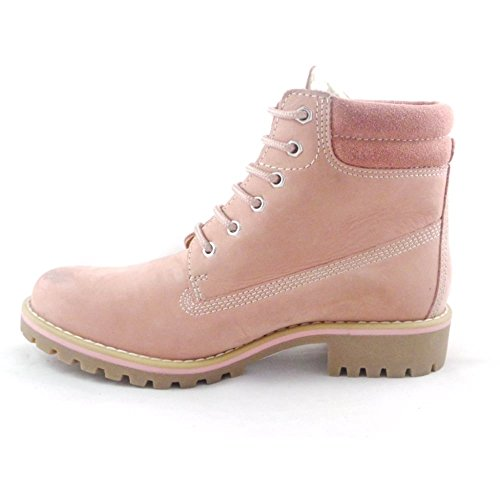 marco tozzi boots rosa