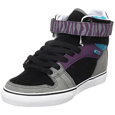 Osiris Men's Rhyme Remix Skate Shoe,Black/Charcoal/Purple,7 M US