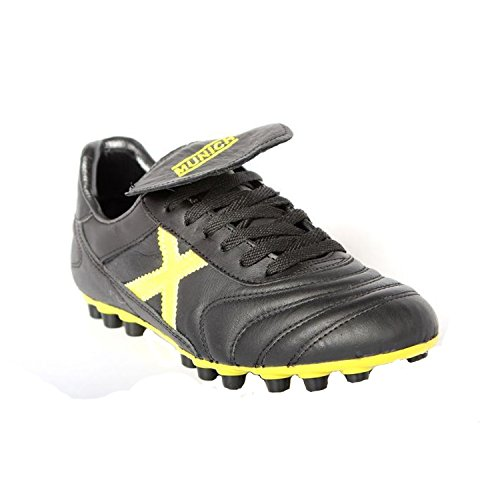 Futsal Noir Jaune U25 Mundial Adults' Black Shoes Munich Unisex xTqAnpII