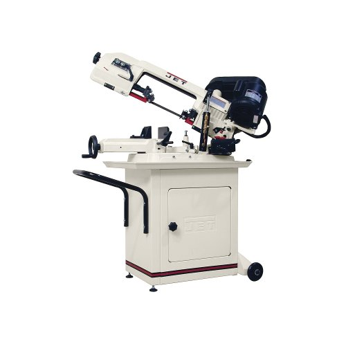 JET 414457 5-Inch by 6-Inch 1/2-Horsepower 115/120-Volt Single Phase Swivel Head Bandsaw by Jet