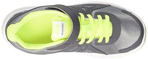 Nike Revolution 2 PSV Zapatillas de running, Niños Gris / Negro (Wolf Grey / Black-Dark Grey-Blk)