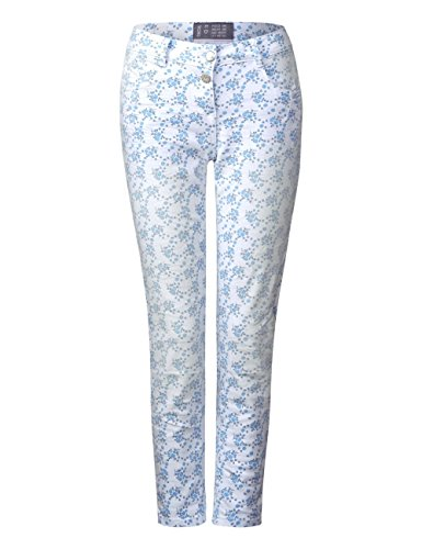Bianco Straight Jeans Cecil Donna Denim white 10438 86wtx0qn1