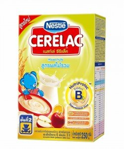 CERELAC baby food milk powder with mixed fruits 250g. 3 boxes. by Cerelac