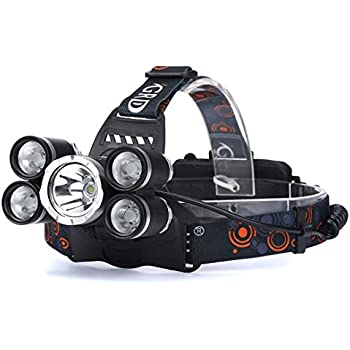 9x Rechargeable 100000lm T6 Headlamp Torch Led Usb Headlight 18650 dxorBECQeW