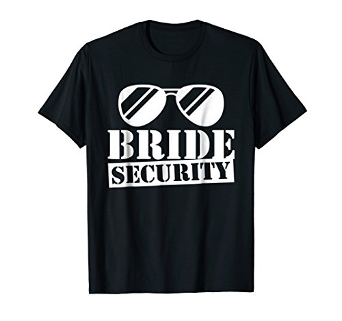 Funny Kids Bride Security Shirt Son Daughter Gift