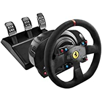 Thrustmaster Ferrari T300 Integral Alcantara Edition Racing Wheel Compatible with Sony PS3, PS4 & PC