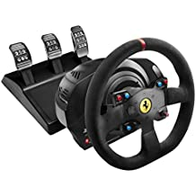 Thrustmaster VG T300 Ferrari Alcantara Edition Racing Wheel for PS4, PS3 and PC