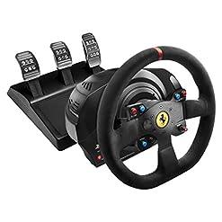 Thrustmaster T300 Ferrari Integral Racing Wheel Alcantara Edition Pack Collector Intégral Compatible PC/PS4 Noir 17