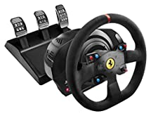 Thrustmaster VG T300 Ferrari Alcantara Edition Racing Wheel for PS4, PS3 and PC