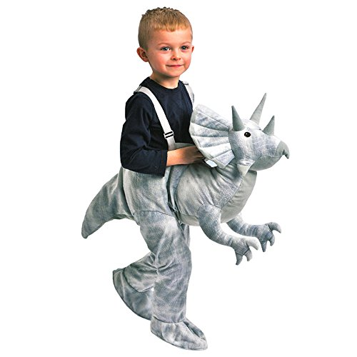 Kids Dinosaur Dress Up (Kids Dress Up Dinosaur TriceratopsCostume Ages 3-7)